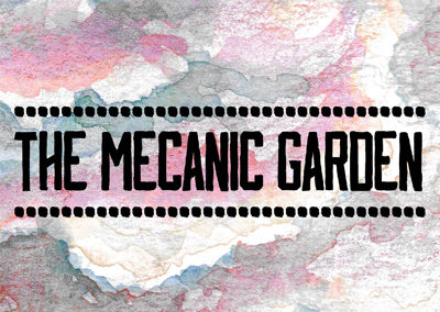 Logo the mecanic garden